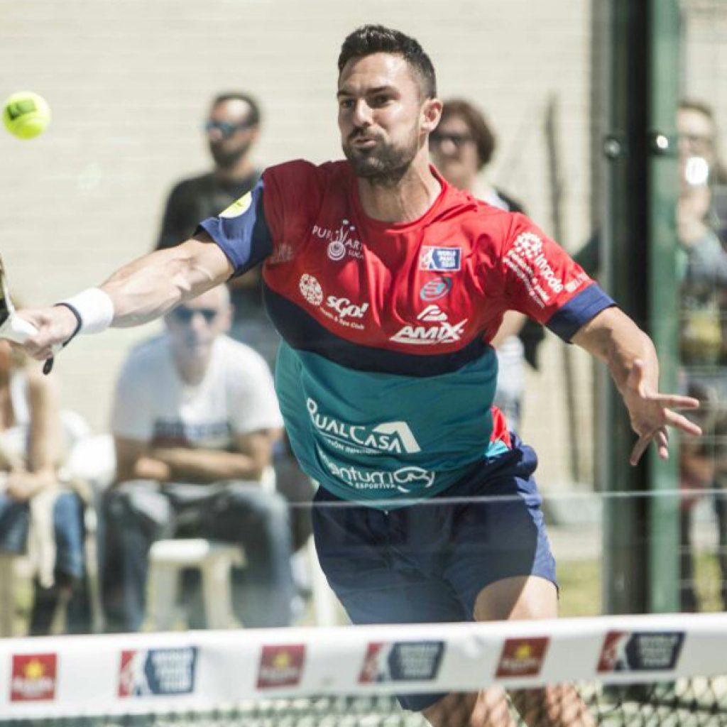 Cristian Ramos, con su Wingpadel