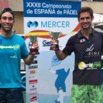 Javier Ruiz, campeón de España con Wingpadel