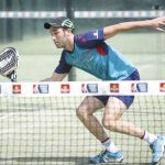 Javier Ruiz, con Wingpadel Air Force Carbon Oro