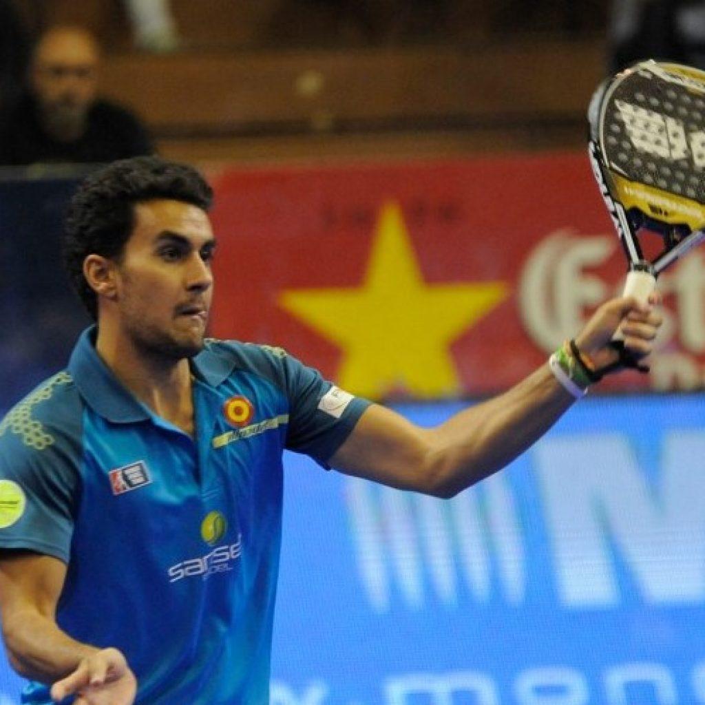 Raúl Marcos, en el Sevilla Open