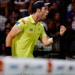 Javi Ruiz celebra su pase en La Coruña Open