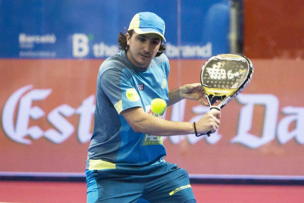 Adrián Blanco, en el Zaragoza Open.