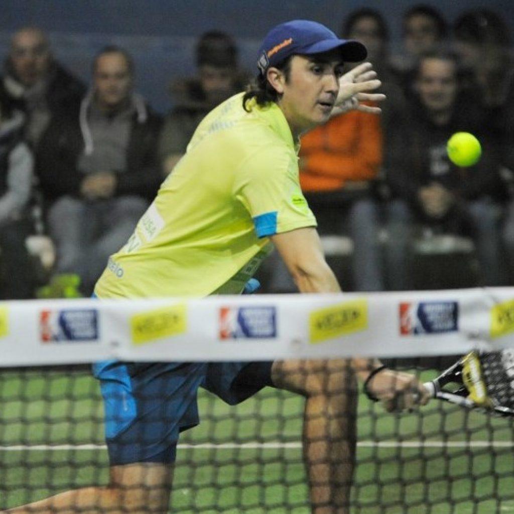 Adrián Blanco, en el Keler Euskadi Open