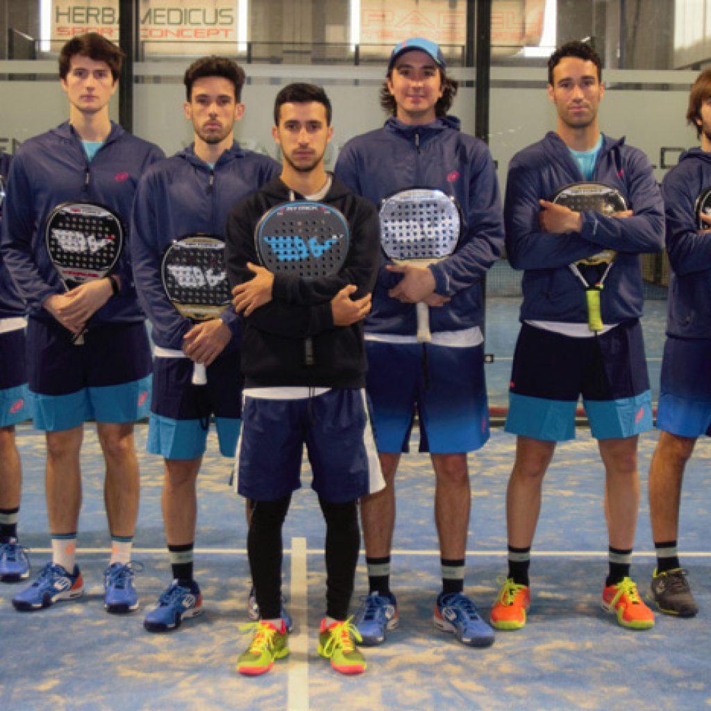 Team Wingpadel en el Santander Open