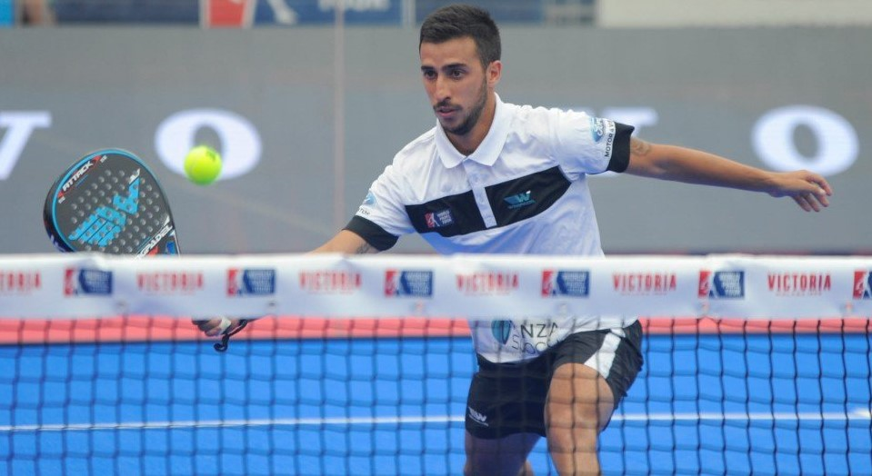 Álvaro Cepero en el Mijas Open World Padel Tour